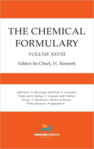the chemical formulary volume 5