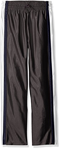 Athletic Boys Pants (The Children's Place Big Boys' Dazzle Active Pant, Charcoal/sky, M)