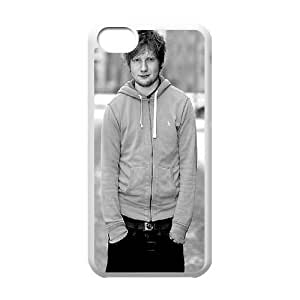 T-TGL(RQ) Custom Ed Sheeran Pattern Protective Phone Case for Iphone 5C