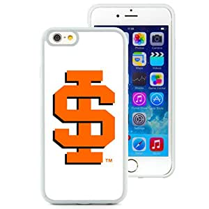 Beautiful And Popular Designed With NCAA Big Sky Conference Football Idaho State Bengals 4 Protective Cell Phone Hardshell Cover Case For iPhone 6 4.7 Inch TPU Phone Case White