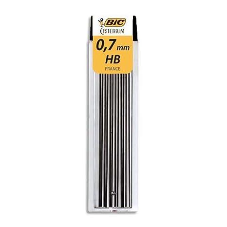 Bic 827082/827080 - Pack de 12 minas para lapicero (0,7 mm