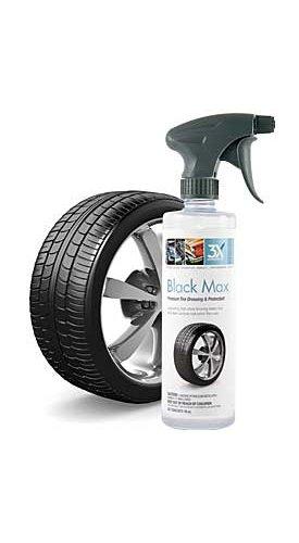 3X:Chemistry 13783 Black Max Tire Shine - 16 oz., (Case of 12)