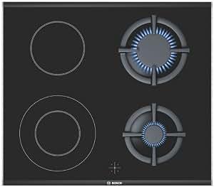 Bosch NRZ626F20E Integrado Combinado Negro hobs - Placa (Integrado, Combi hob, Cerámico, Negro, 220 - 240 V)