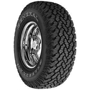 LT265/70R18 General Grabber AT2 All Terrain 10 Ply E Load Tire 2657018