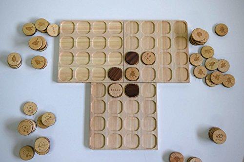 KiTAS(きたす) 木製のおもちゃ リバーシ