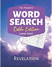 """Word Search: Bible Edition Revelation: 8.5"""" x 11"""" Large Print"""