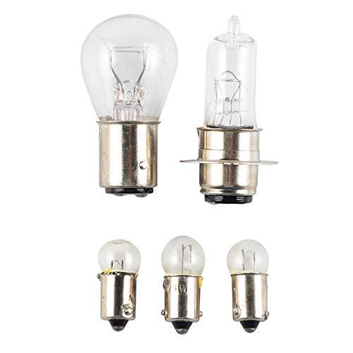 1969 Headlamp - Star-Trade-Inc - Motorcycle 6V Replace Speedometer Cluster Bulb Head Light Bulb Tail Light Headlight For Honda CT70 1969-1979