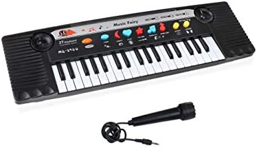 Kids Keyboard Piano 37 Keys Electronic Portable Piano Keyboard for Children Early Education Music Instrument Music Keyboard Toy Best Gift for Girls and Boys for Birthday and Christmas