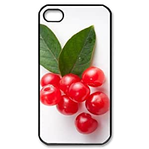 ALICASE Diy Customized hard Case Cherry For Iphone 4/4s [Pattern-1]