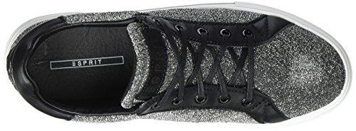Gris Lu Zapatillas para Esprit Mujer Grey Dasha 5qHCX