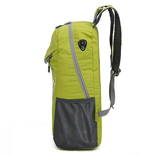 Mountaineering Bag Outdoor Freizeitaktivitäten leichtes Wandern Bergsteigen floding Paket wasserdichte Taschen nylon Rucksack , blau