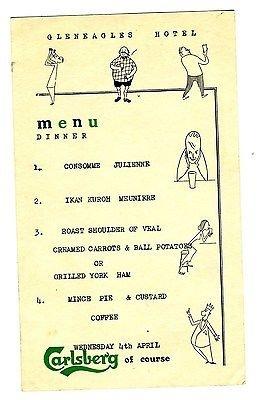 gleneagles-hotel-dinner-menu-perthshire-scotland-carlsberg-1960s
