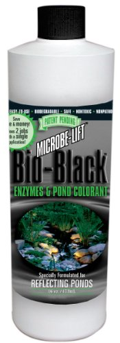 Microbe Lift 16-Ounce Pond Microbe-Lift Bio-Black BIOBLK16 ()