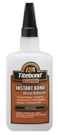 (Titebond Instant Bond CA Adhesive, Medium 4 oz )