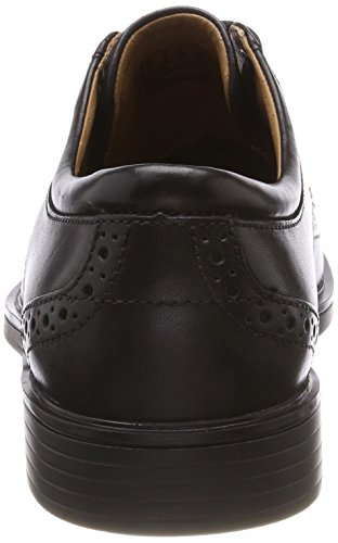 Black Stringate Uomo Scarpe Un Leather Derby Clarks Wing Nero Aldric 6nwIqY8xF