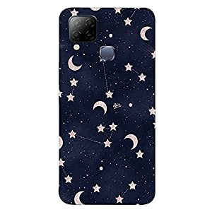 Star Moon Back Cover for Infinix Hot 10s
