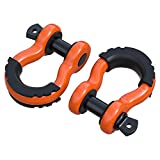 "ORCISH 3/4"" D Ring Towing Shackle (2 Pack) 10450Ib"