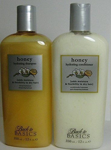 Back to Basics Honey Hydrating Shampoo and Conditioner Duo 12 Oz 12oz Back To Basics Scented Shampoo