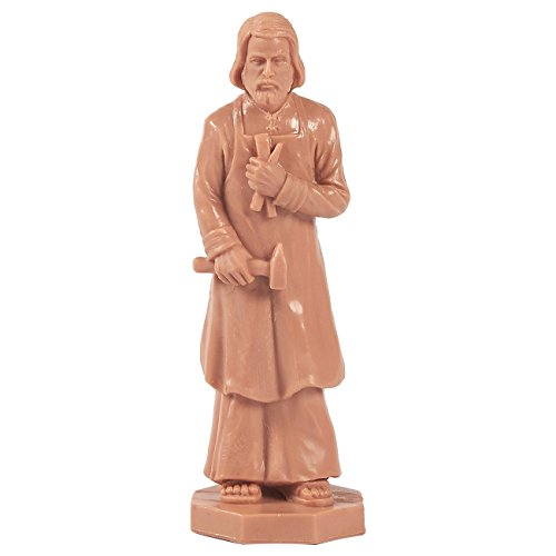 St. Joseph Statue - Home Seller Kit - Part Catholic Tradition Burying to Improve Home Sales - Patron Saint Workers Statue, Holy Christian Decoration Gift, 3.5 inches in Height ()