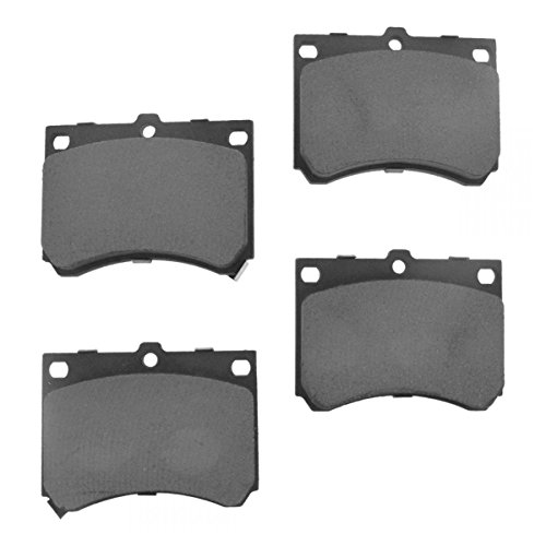 Front Metallic Brake Pad Set Kit for Escort 323 ZX2 MX-3 Protege Tracer ()