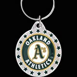 Oakland Athletics MLB Enameled Key Chain