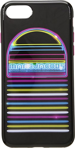Marc Jacobs Women's Neon Speaker iPhone 8 Case Black Multi One Size
