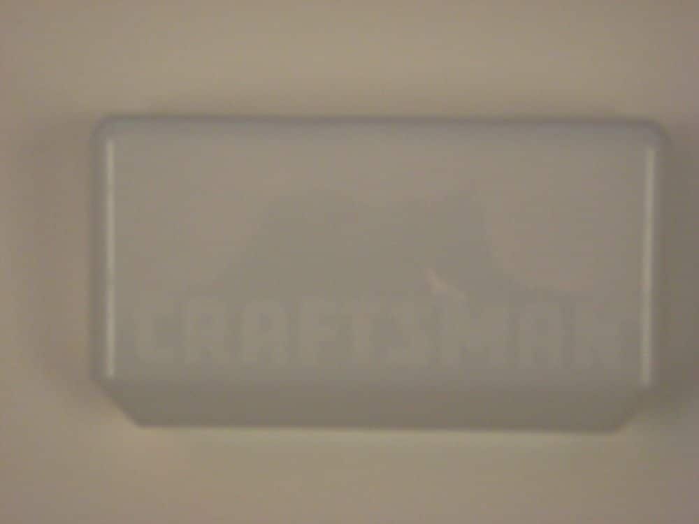 Chamberlain 108D58-2 Garage Door Opener Light Lens Genuine Original Equipment Manufacturer (OEM) Part for Craftsman
