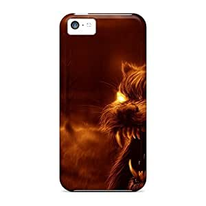 5c Scratch-proof Protection Case Cover For Iphone/ Hot New Moon Phone Case