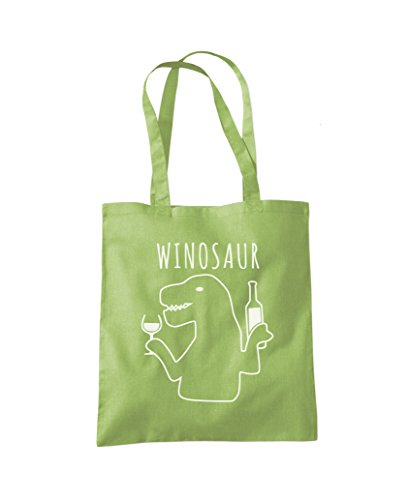 Bag Kiwi WinoSaur Green Shopper Tote WinoSaur Tote Fashion HqXxz