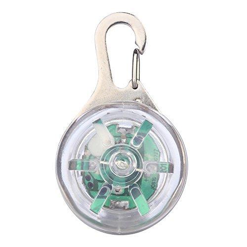 - Pet Dog LED Collar Lights Pendant Clip-on Circular Collar Anti-lost Blinking Collar Lights LED Go Anywhere Light outdoor LED Pendant Light 8-Color 3 flashing modes