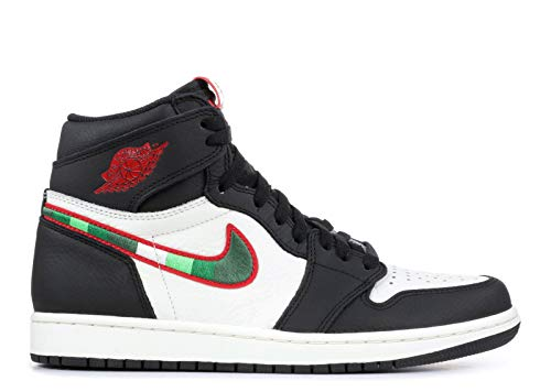 De Jordan High Homme Og sail Retro Chaussures Fitness Air 1 Multicolore Nike black 015 Red varsity university Blue qxw0gHf