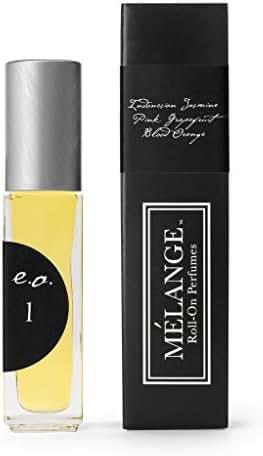 Melange Jasmine, Pink Grapefrui & Blood Orange Essential Oil Perfume .25 ounces