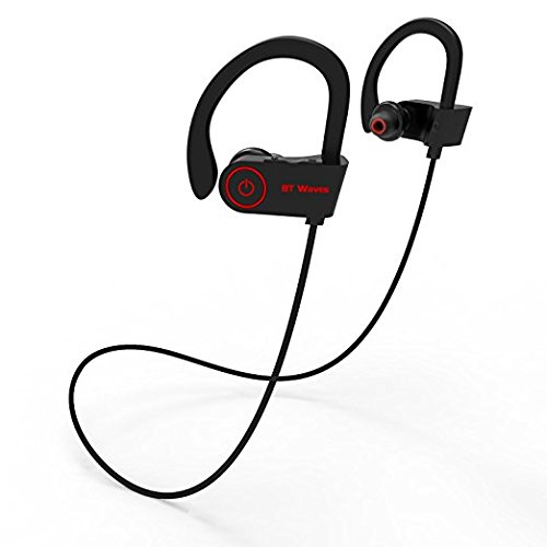 In ear wireless headphones with microphone