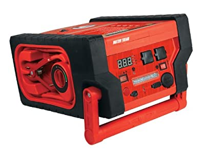 Motor Trend (JSM-0599) Flat Professional Series 6 In 1 Heavy Duty Jumpstart With 900 Peak Amps and 450 Instant Charging Amps