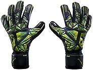 Storelli Silencer Ploy Goalkeeper Gloves   Soccer Goalie Gloves with Finger Spines   Enhanced Finger and Hand