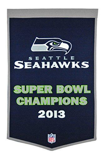 (Winning Streak NFL Seattle Seahawks Dynasty Banner)