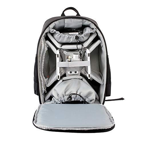 Hongxin Carrying Shoulder Case Backpack Bag for DJI Phantom 3 Professional Advanced (Black)