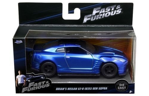 Series R35 (NEW 1:32 JADA TOYS COLLECTOR'S SERIES FAST & FURIOUS - BRIAN'S NISSAN GT-R R35 BEN SOPRA Diecast Model Car By Jada Toys)