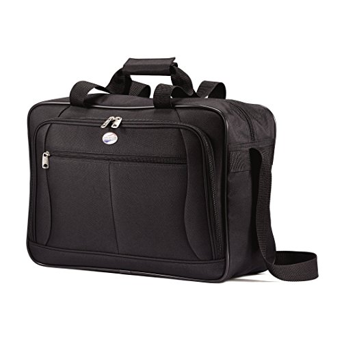 American Tourister Luggage Pop Extra Carry on Boarding Bag (One Size, Black) (American Tourister Bag)