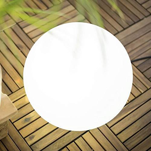 buly –  Lampada di Esterno RGB solare ricaricabile Bianco Ø 30 cm –  Luce per esterni New garden design di