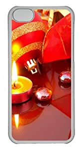 iPhone 5C Case and Cover -ChrIstmas Light PC Case Cover for iPhone 5C and iPhone 5C Transparent