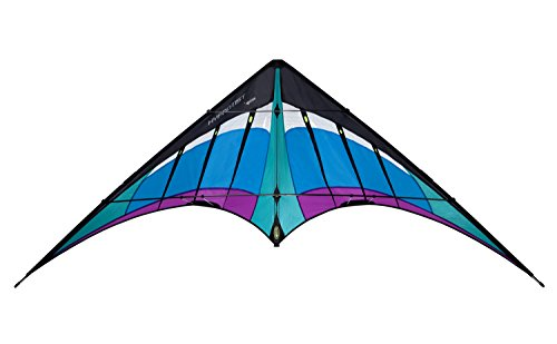 Prism Hypnotist Dual-line Stunt Kite, Ice by Prism Kite Technology