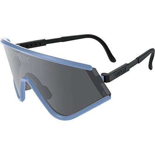Oakley Mens Special Edition Eyeshade Heritage Sunglasses, Blue/Grey, One - Oakley Heritage Collection