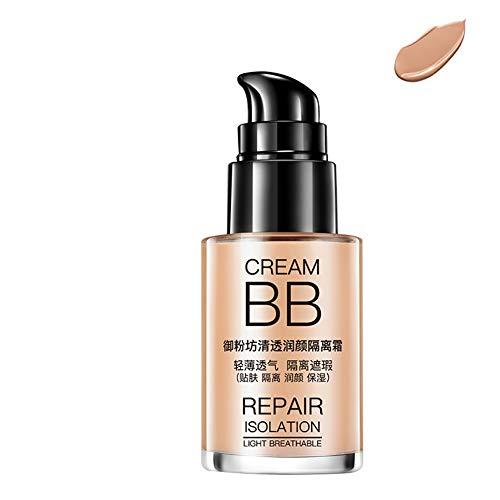 (Liquid Foundation gLoaSublim 30ml Whitening BB Cream Skin Care Sun Block Moisturizing Anti Wrinkle Makeup - Dark Skin)