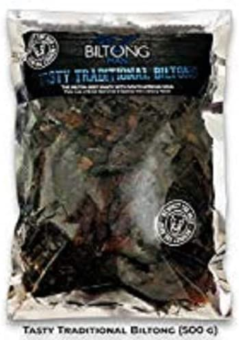 The Biltong Man Tasty Traditional Biltong (500g): Amazon.co.uk: Grocery