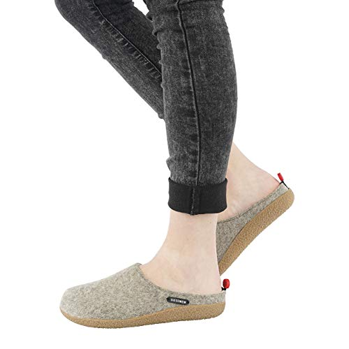 Natur Chaussons Vorbach Giesswein Femme Mules awIHqqf