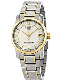 T-Classic Automatic Mother of Pearl Dial Two-tone Ladies Watch T0872075511700
