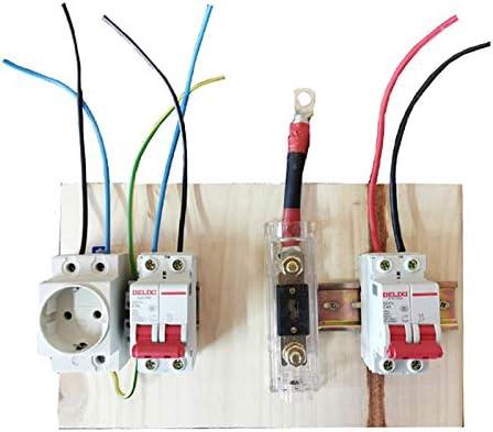 Preinstalacion del Kit Solar para 3000va 24v protecci/ón y Conectores para Kit Solar