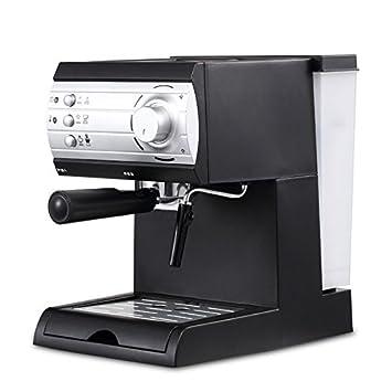 Todos Los Semiautomáticos de Oficina Casa Tirar Flor Máquina de Café de Vapor,Negro,356 * 272 * 360: Amazon.es: Hogar