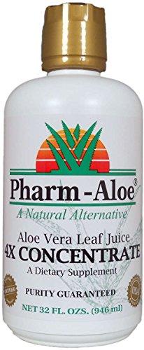 Pharm-Aloe® Aloe Vera Leaf Juice 4X CONCENTRATE (Pharm Aloe Juice compare prices)